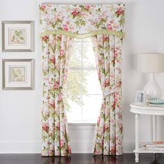 Found it at Wayfair - Emma's Garden Curtain Panels