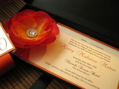 Color Customizable Boxed Invitation with by InvitationsbyJenna, $10.63