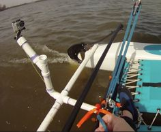 hobie cat gopro mount - Google Search Gopro Diy, Kayaking, Outdoor Power Equipment, Film, Cats, Patterns, Google Search, Ideas, Movie