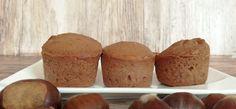 gesztenyés-csokis gluténmentes muffin Muffin, Breakfast, Food, Meal, Eten, Meals, Muffins, Morning Breakfast