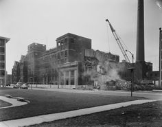 Mercy Orphan Asylum and Mercy Hospital, 2537 S. Prairie, 1968. Chicago - Photographic Images of Change, University of Illinois at Chicago.