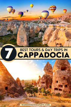 The Best Tours in Cappadocia Turkey || Best Excurions in Cappadocia || What to do in Cappadocia, Turkey || Hot Air Balloon, Cappadocia || Best Hot Air Balloon Tour in Cappadocia. Looking for some fun activities in Cappadocia? Check out our list of tours including a pink salt lake, quad bikes, hiking, underground city tours, photography tours, and, of course, hot air balloon rides! By Wandering Wheatleys (@wanderingwheatleys) #Cappadocia #Goreme #Turkey #HotAirBalloon #Travel #Tours #TravelGuide Travel Tours, Europe Travel Tips, Asia Travel, Travel Guides, Travel Destinations, European Travel, Underground Cities, Turkey Travel, Ultimate Travel