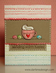 Paper Smooches Hot Concoctions Card by Darlene D, via Flickr
