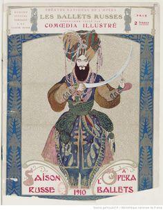 Programme officiel de la saison russe à l'Opéra : [7 et 9 juin 1910] / [textes de Mill Cissan et de Vanina]