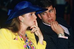 Duchess of York and Prince Andrew The Duke of York Prince Andrew, Prince Charles, Prince William And Kate, Sarah Ferguson, Princess Eugenie And Beatrice, Princess Of Wales, Sarah Duchess Of York, Duke And Duchess, British Monarchy History