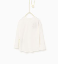 ZARA - KIDS - Floral appliqué top