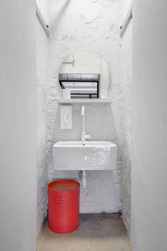 Negra, blanca, gris y con una pared de ladrillo, la cafetería perfecta! | Decorar tu casa es facilisimo.com