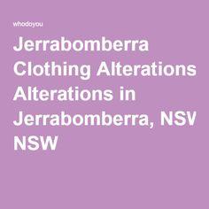 Jerrabomberra Clothing Alterations in Jerrabomberra, NSW