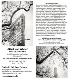black-and-white-einladung-galerie-camos-gerald-berghammer My Black, Camo, News, White Photography, Musical Composition, Monochrome, Landscape, Camouflage, Military Camouflage