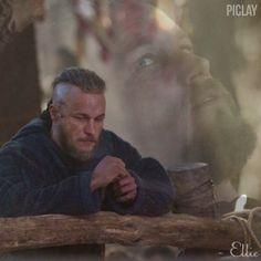 Travis Fimmel as Ragnar Lothbrok in Vikings (S1&2) | fan edit by @ellieinkattegat (IG account)