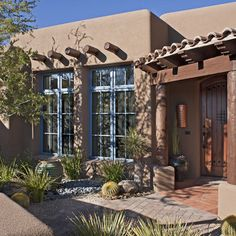 Exterior Santa Fe Design, Pictures, Remodel, Decor and Ideas - page 2