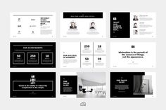 PowerPoint - Kelsey by bilmaw creative on a beautifully minimal design packed with a wealth of features. Built with the creative industries in mind, but can be fully customised to suit any business or industry. Web Design, Design Blog, Portfolio Design, Brand Design, Logo Design, Graphic Design, Presentation Design, Presentation Templates, Photoshop