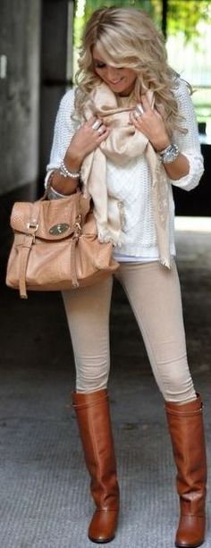 Mungolife Bright Cozy Neutrals Fall Street Style Inspo