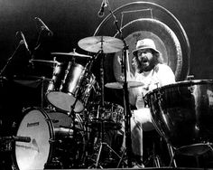 Led Zeppelin master skinsman John Bonham taught me more about the subtleties that can be accomplished while in song more so than was to be gleaned within the heavier elements of his ever distinctive chops style. Whether he was playing 'Immigrant Song', 'Whole Lotta' Love' or 'All Of My Love', Bonzo's locked in syncopation inspired me to always stay on beat and make healthy decisions playing wise in regards to the track's integrity.