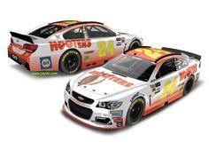 Jayski's® NASCAR Silly Season Site - 2017 Monster Energy NASCAR Cup Series #24 Paint Schemes