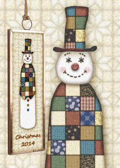 Gingerbread Studio has been creating collectible Christmas ornaments since 1999 This Snowman is part of a set featuring a Santa Snowman Angel and a tree Collect all four Dated ornaments are a great gift for first home new baby first Christmas together! Attach to a bottle of wine with a big bow for a