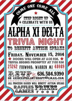 trivia night flyer