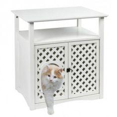 die besten 25 katzenklo schrank ideen auf pinterest katzenklo abdeckungen katzenklo mit. Black Bedroom Furniture Sets. Home Design Ideas