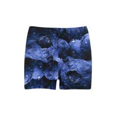 Blueberries Skinny Shorts. FREE Shipping. FREE Returns. #lshorts #fruits