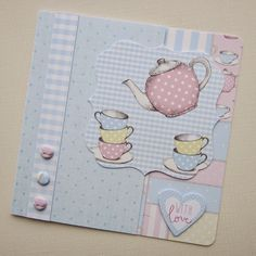 Craftwork Cards Blog: Love a Cuppa by Kath Woods
