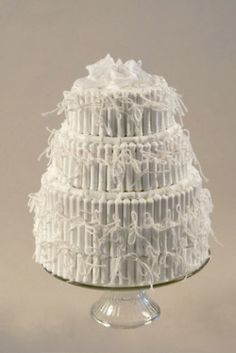 tampon wedding cake