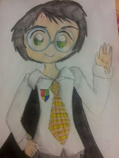 Harry Potter Chibi Version