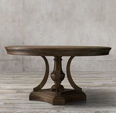 2096 RH St. James Round Dining Table