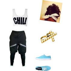 """What I wear to hip hop"" by max2200 on Polyvore"