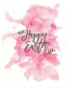 Happy Easter Spring Printable