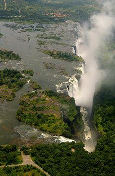 Victoria Falls, Rhodesia (now Zimbabwe)