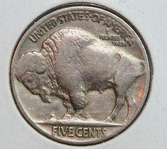1927 Buffalo Nickel 5c Five Cent Circulated Coin Collectable!!! #161