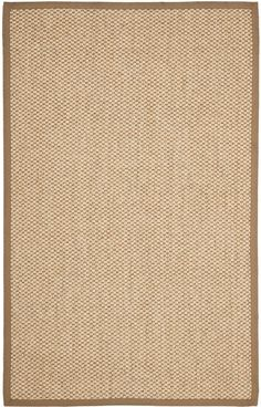For sophisticated beach house style, this sisal rug is the perfect choice. Natural fiber rugs are soft underfoot, textural and woven from sustainably harvested sisal for an elegant cottage look with feel-good appeal. Natural Fiber Rugs, Natural Rug, Braided Area Rugs, Cool Rugs, Rug Making, Carpet Runner, Colorful Rugs, Runes, Sisal Rugs