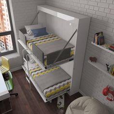 Multimo Twin Murphy Bed Reviews Wayfair Kids Bunk Beds