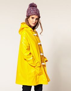A really lovely rain coat.