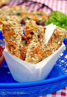 Crunchy Baked Zucchini Sticks