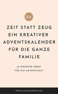 Zeit statt Zeug: Ein kreativer Adventskalender für die ganze Familie Time instead of stuff: a creative advent calendar for the whole family Natural Christmas, Kids Christmas, Christmas Crafts, Christmas Decorations, Diy Advent Calendar, Advent Calenders, Fete Halloween, Famous Last Words, Mason Jar Crafts