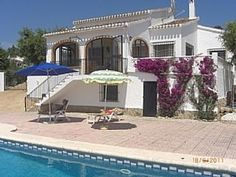 Villa+With+Private+Pool+And+WiFi,+Javea,+Costa+Balnca+++Holiday Rental in Arenal Beach from