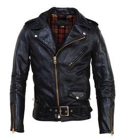 Horsehide Perfecto Motorcycle Jacket by Schott NYC