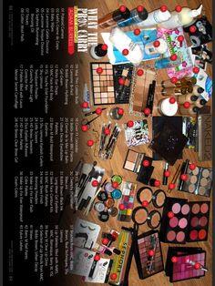 What the Pros Carry? - Adam Burrell - Little Mix Makeup Artist