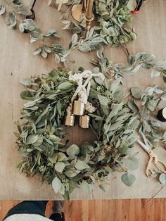 Eucalyptus wreath DI