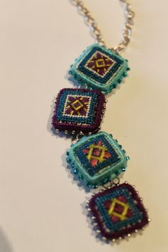 needlepoint beads by Orna Willis