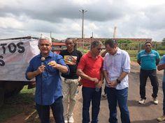 Homero Lima: Autoridades estaduais, municipais e população em geral se unem a trabalhadores grevistas em ato na porta do Grupo João Santos em Coelho Neto