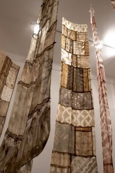 Textile artists Trudi and Helena Pollard use natural dyes made from plants found in Western Australia