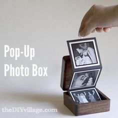Custom gift idea for someone you love - Pop-up Photo Box