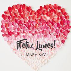 ¡Comienza el día amando lo que haces! #InspiraciónMarykay #FelizLunes