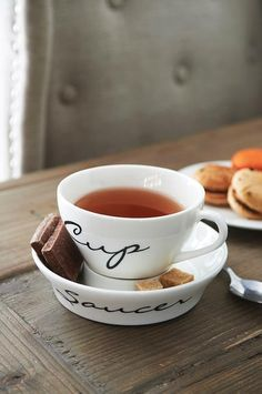 Tea in Whimsical Teacup