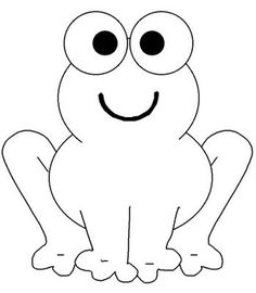 Trendy Baby Animal Art Projects For Kids Coloring Pages Ideas Frog Coloring Pages, Animal Coloring Pages, Coloring Pages To Print, Printable Coloring Pages, Coloring Pages For Kids, Coloring Books, Simple Coloring Pages, Preschool Coloring Pages, Animal Templates