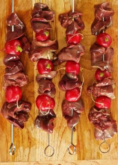 Chicken Liver & Radishes from Ideas in Food