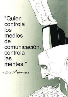 controlar los medios y las mentes