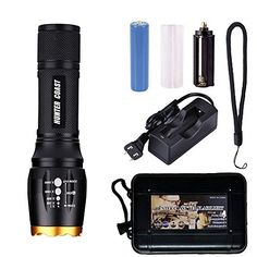 [$8.99 save 80%] Amazon #LightningDeal 75% claimed: Handheld Led Flashlight of 1000 LumensWater Resistant Campi... #LavaHot http://www.lavahotdeals.com/us/cheap/amazon-lightningdeal-75-claimed-handheld-led-flashlight-1000/190675?utm_source=pinterest&utm_medium=rss&utm_campaign=at_lavahotdealsus